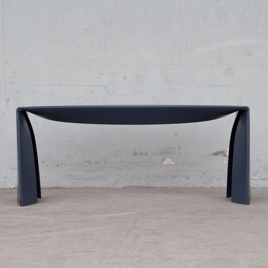 Folded Bench in blue