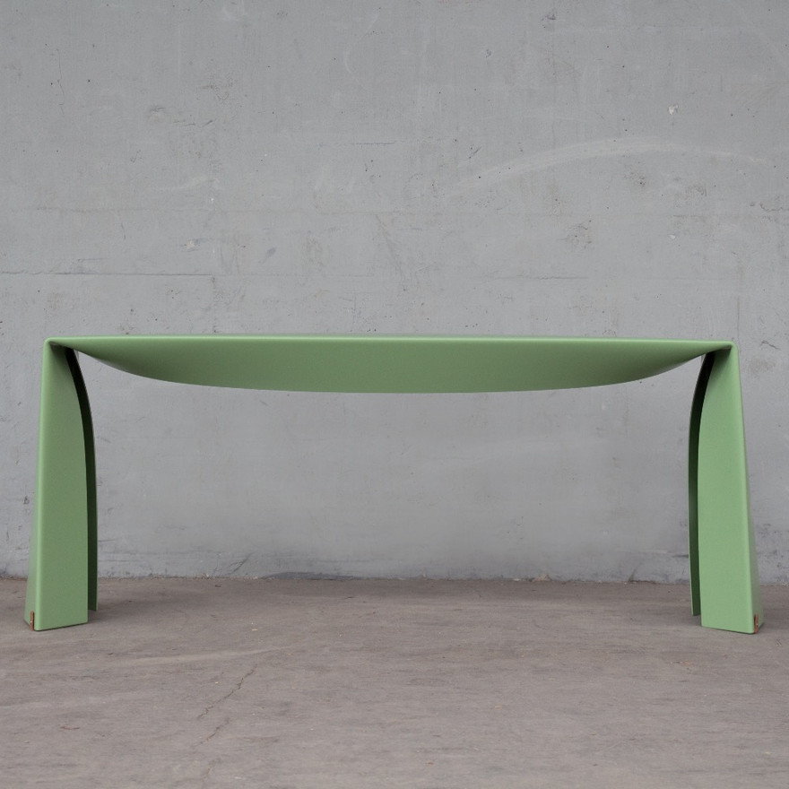Folded Bench in green