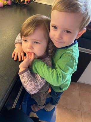 Vi elsker at kramme