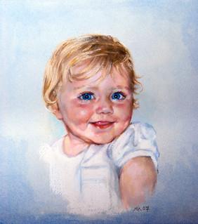 Soft Pastel portrait