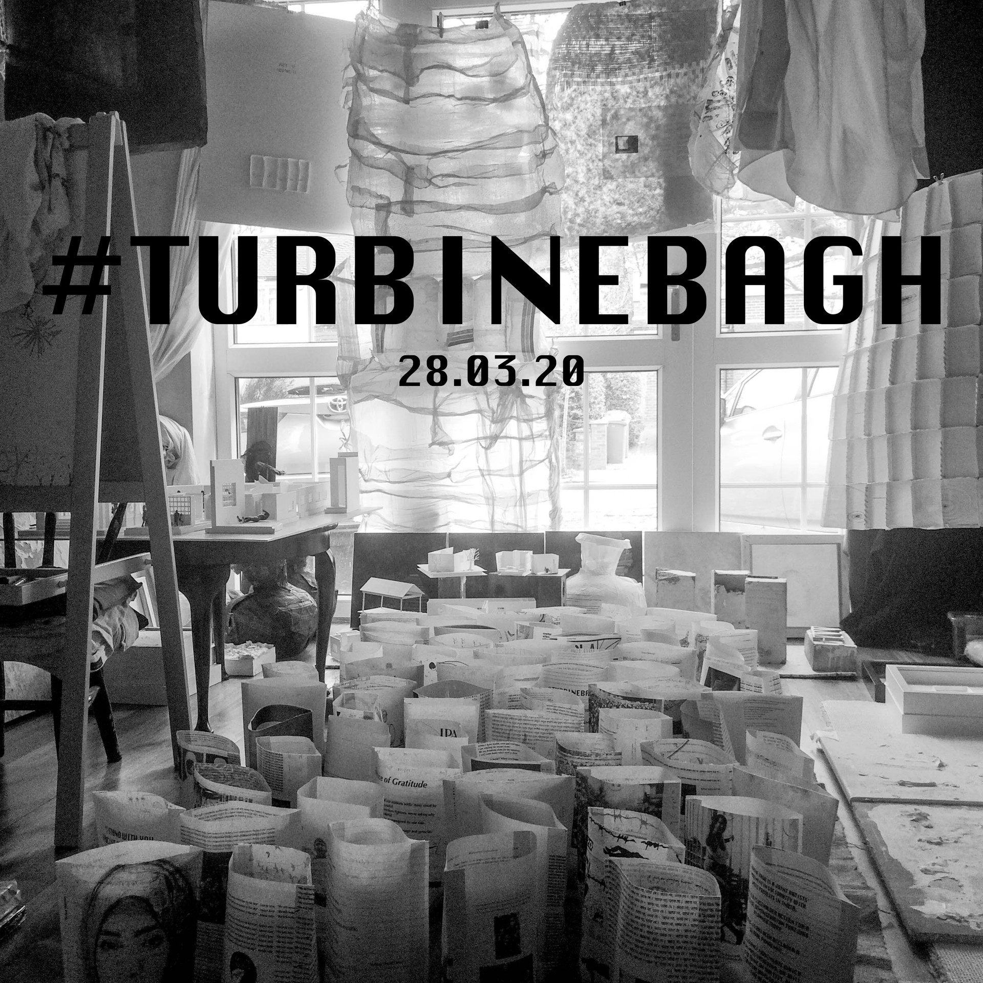 1. Turbine Bagh is a joint artists' movement against fascism in India. It was built around a peaceful protest that was due to be held in the Turbine Hall of Tate Modern museum, London. The event is postponed due to COVOD-19, but the movement continues.