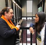 Tania Bruguera and Sofia Karim