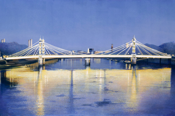 Albert Bridge at Twilight