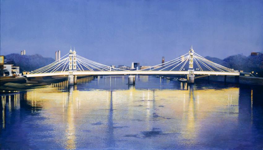 Albert Bridge at Twilight