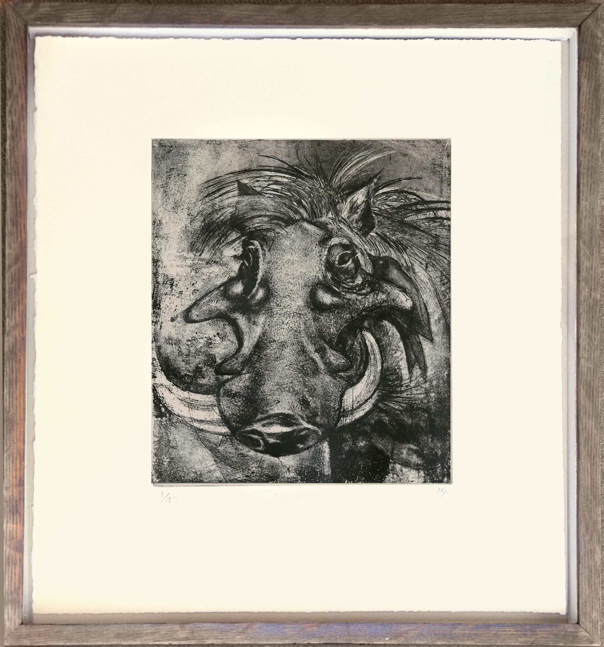 Warthog Etching