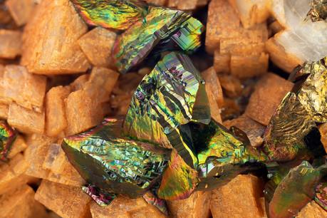 Chalkopyrit Schmiedeberg BB 18 mm Andrea