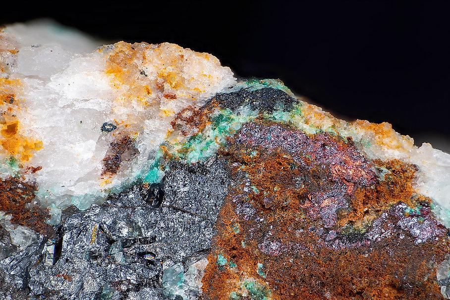 Chalkosin-Djurleit mit Kupfer Vahlberger