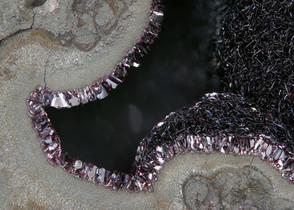 Chalkophanit Brüche BB 2,2 mm Reinhardt