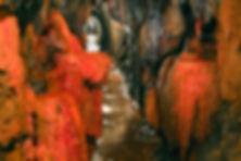 Manganablagerungen im Alvenslebenstollen