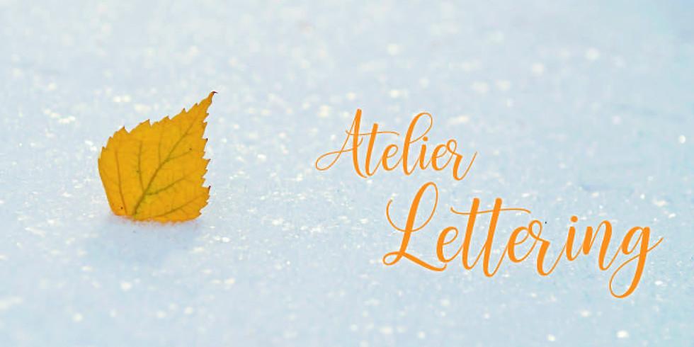 Initiation au « lettering » (Adolescents et adultes)