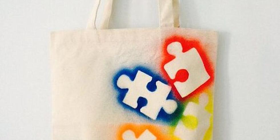 Customisation d'un tote bag (Enfants de 5 à 8 ans)
