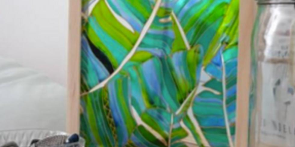 Peinture sur verre (Enfants de 5 à 8 ans)