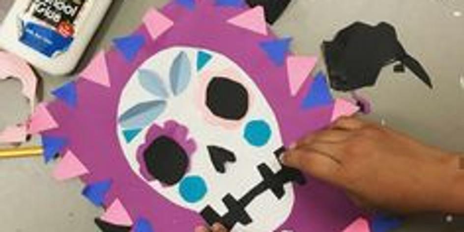 Collage d'Halloween (Enfants de 5 à 12 ans)
