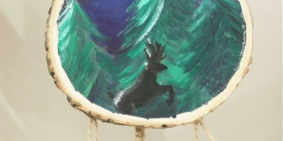 Attrape-rêve en bois (Enfant de 8 à 12 ans)