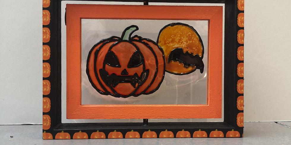 Peinture sur verre d'Halloween (Enfants de 5 à 12 ans)