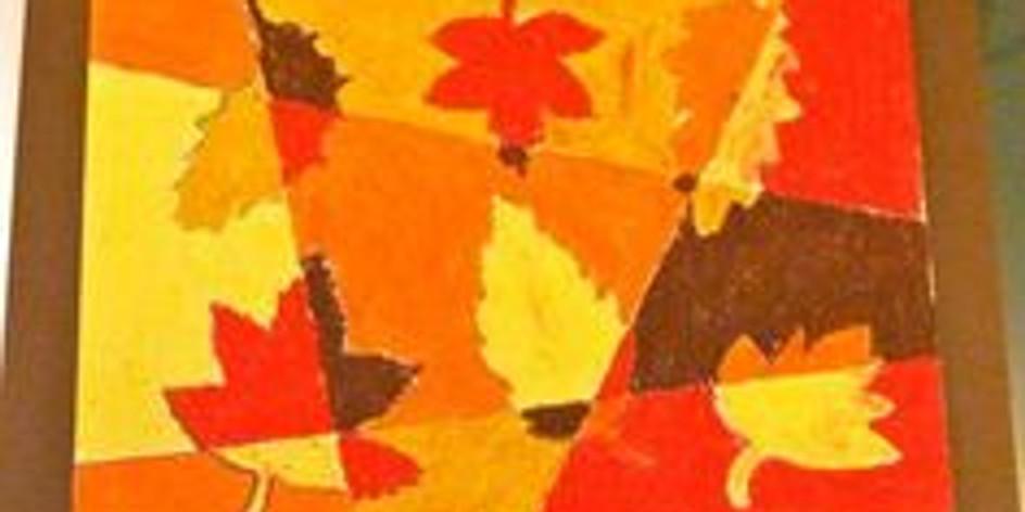 Dessin aux pastels gras d'automne (Enfants de 5 à 12 ans)