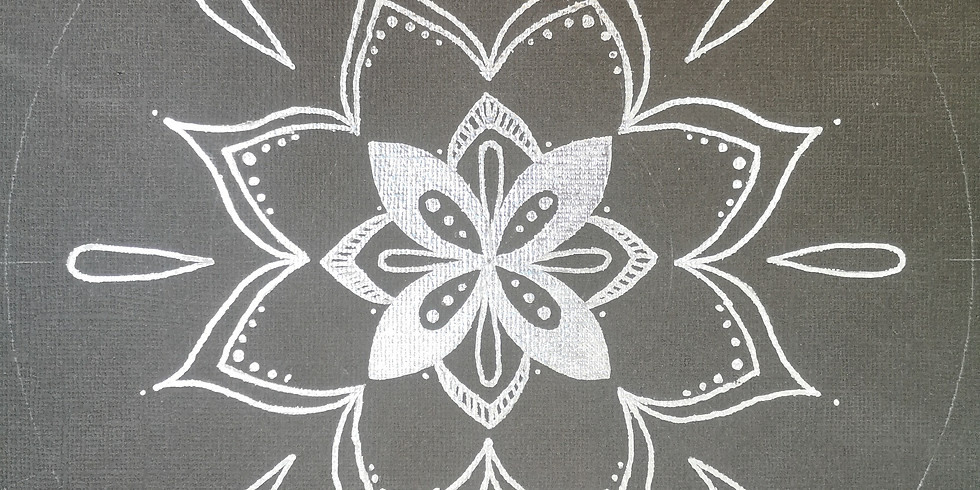 Mandala sur toile (Enfants de 5 à 12 ans)