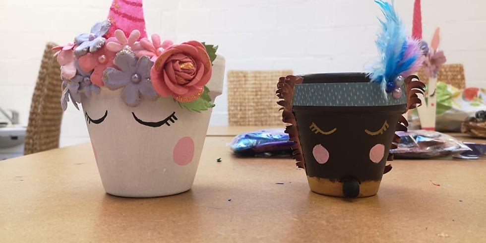 Pot décoré (Enfants de 5 à 8 ans)
