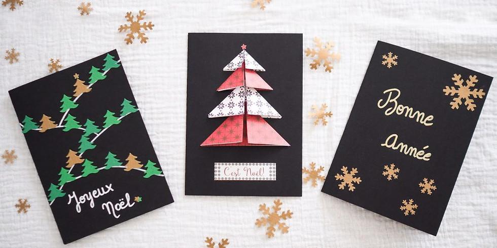 Cartes de Noël (Enfants de 5 à 12 ans)