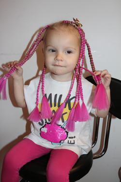 Baby box braids
