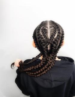 Natural hair braiding