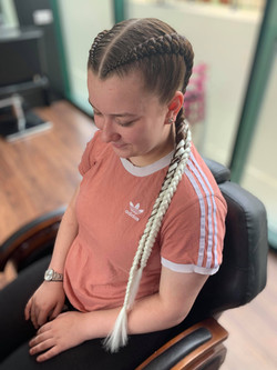 Boxer braids