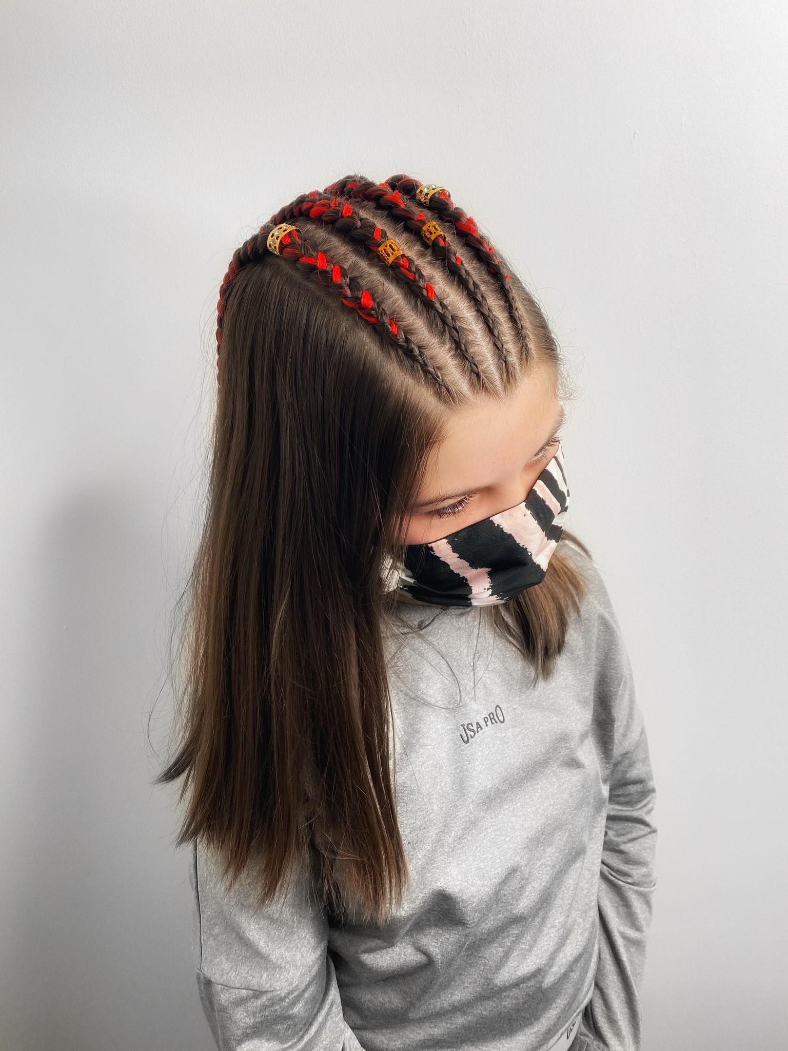 Top braids