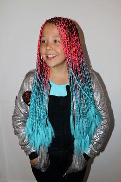 Kids small size box braids