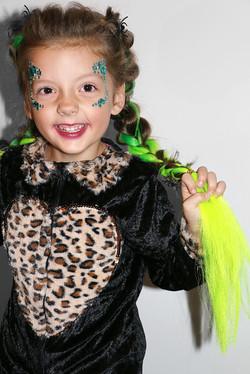 Halloween braids