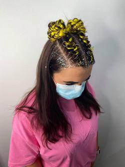 Loose top braids