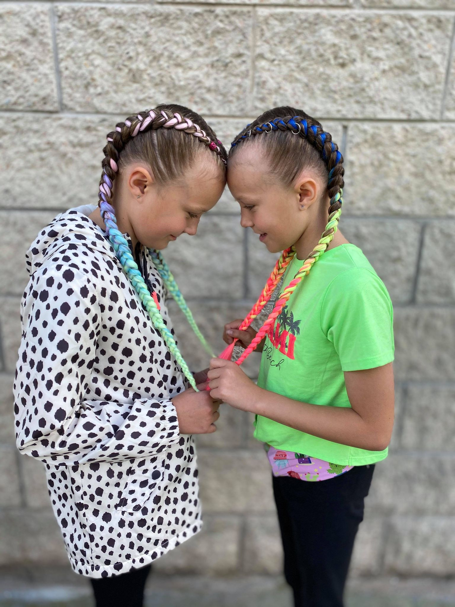 Boxer braids for TWO