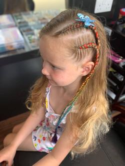 2 side braids