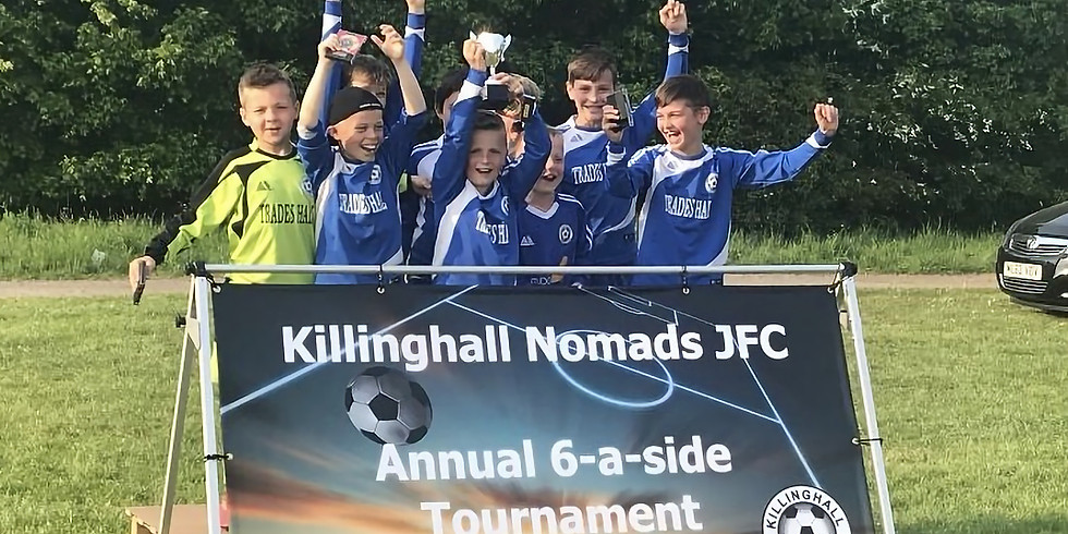 Information on Killinghall Nomads JFC Annual 6-a-side Tournament