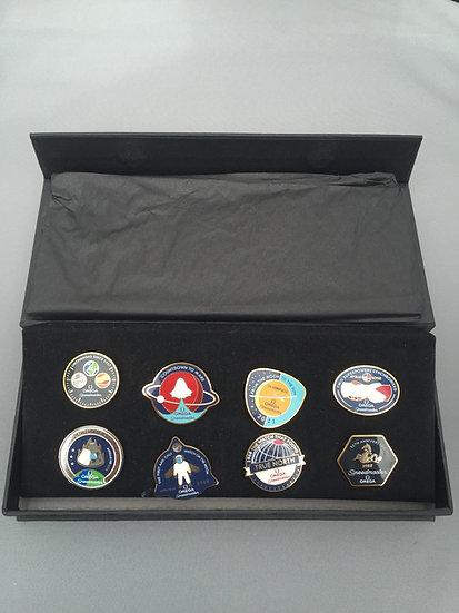 Omega Speedmaster 50th Anniversary Pins