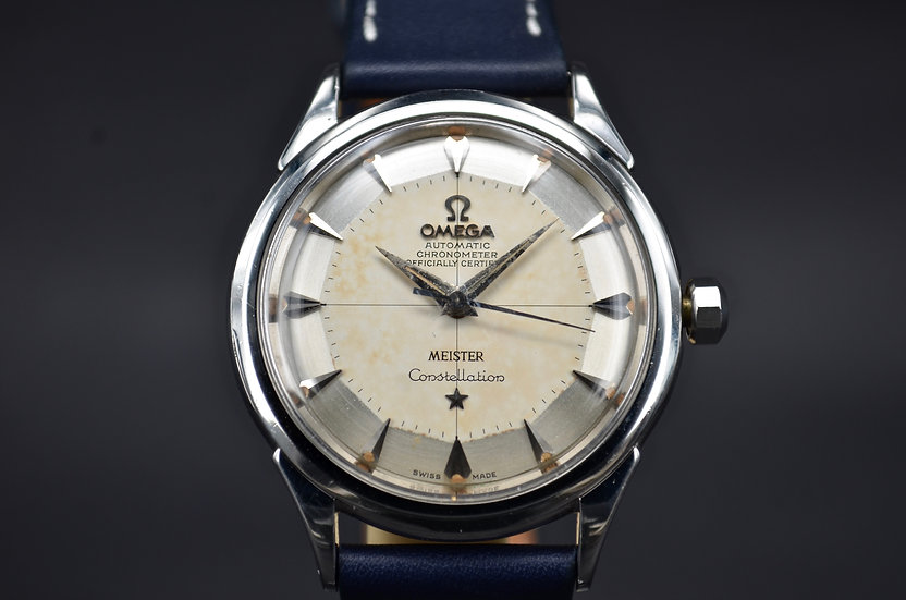 Omega Constellation 'Meister' Pie Pan Dial Ref 2852-5 SC