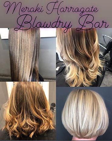 Meraki Harrogate Hair Salon Blow Bry Offer