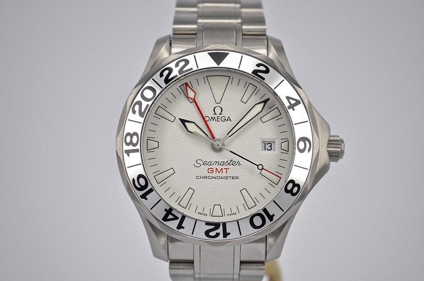 Omega Seamaster Chronometer GMT 'Great White' 2538.20