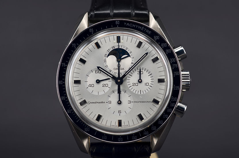 2003 Omega Speedmaster White Gold Moonphase 275 Pieces Only