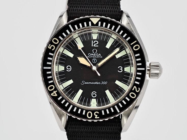 1967 Omega Speedmaster 300 Diver Military - Royal Navy