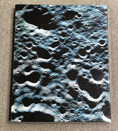RARE 1969 Omega Moon Landing Pictures in a Moon Crater Box - ENGLISH TEXT