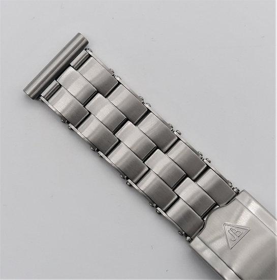 The Forstner Rivet Bracelet with Solid Links