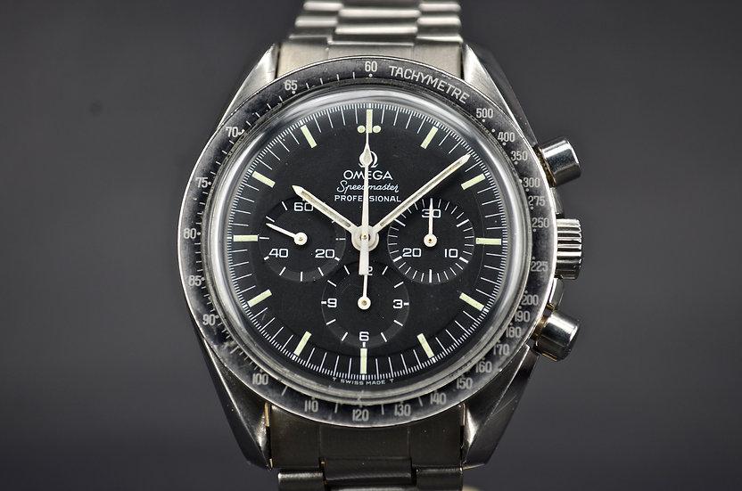 1974 Omega Speedmaster 145.012-71 Stepped Dial