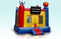 Sports Box Frame Bouncer