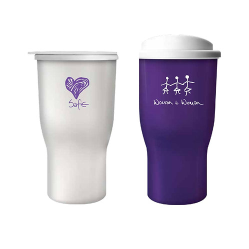 2 x Woman To Woman Hot Drink Tumblers