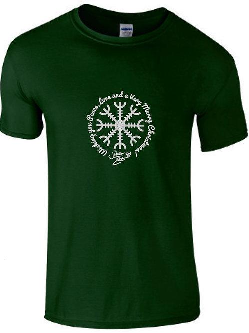 Judie Tzuke 'Peace & Love' - Xmas T Shirt