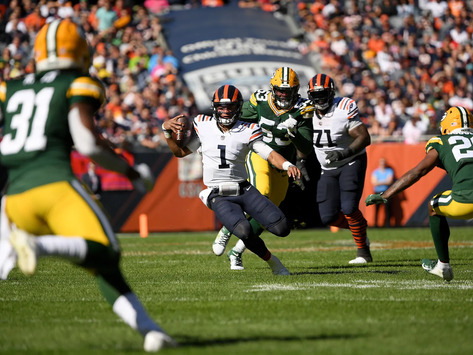 The Nagy Diaries: The Bears Fall Short to Aaron Rodgers and the Green Bay Packers
