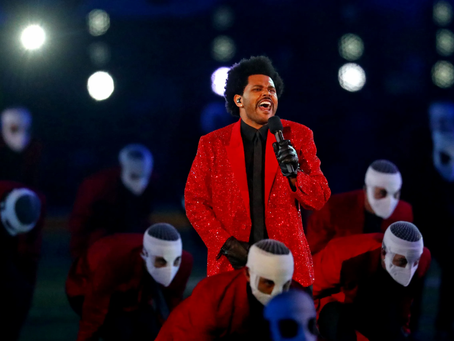 The Weeknd Dazzles During All-Time Super Bowl Halftime Performance