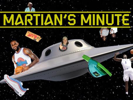 MARTIAN'S MINUTE: June 27, 2019