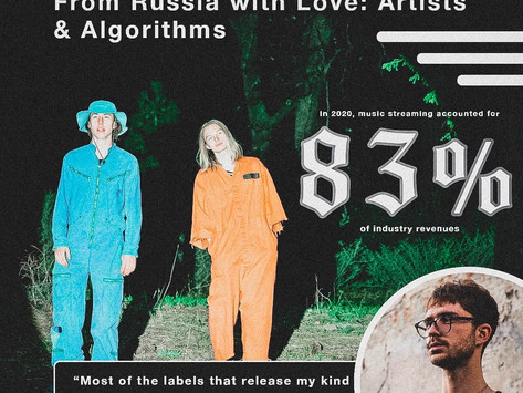 From Russia with Love: Artists & Algorithms