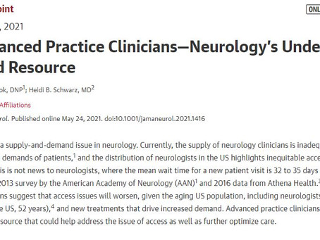 """Transcript to podcast: """"JAMA Neurology's solution to neurologist shortage: Just substitute NPs/ PAs"""""""